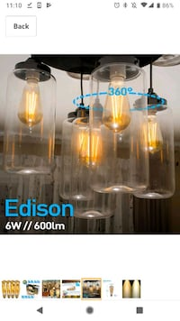 Edison Bulbs LED - Brand New Toronto, M6K 1Y4