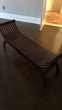 rectangular brown wooden table with chairs Vaughan, L4L 5A8