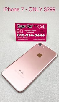 iPhone 7 Rose Gold 32GB | 30 Day Warranty  Temple Terrace, 33617