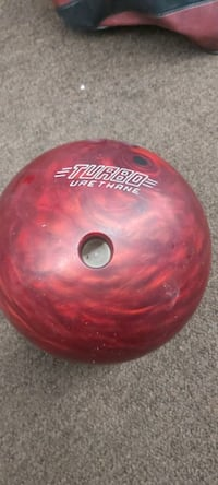 Ebonite Urethane bowling ball