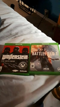 Battlefield 1 and Wolfenstein NWO for Xbox One  Barrie, L4N 4Y6