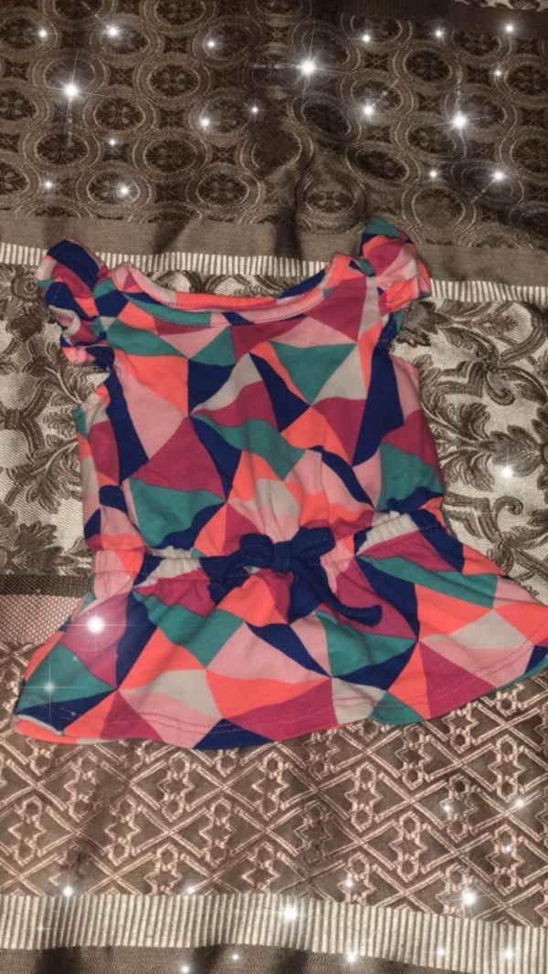 Multicolored baby blouse