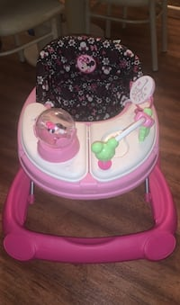 Baby walker in like new condition minnie mouse