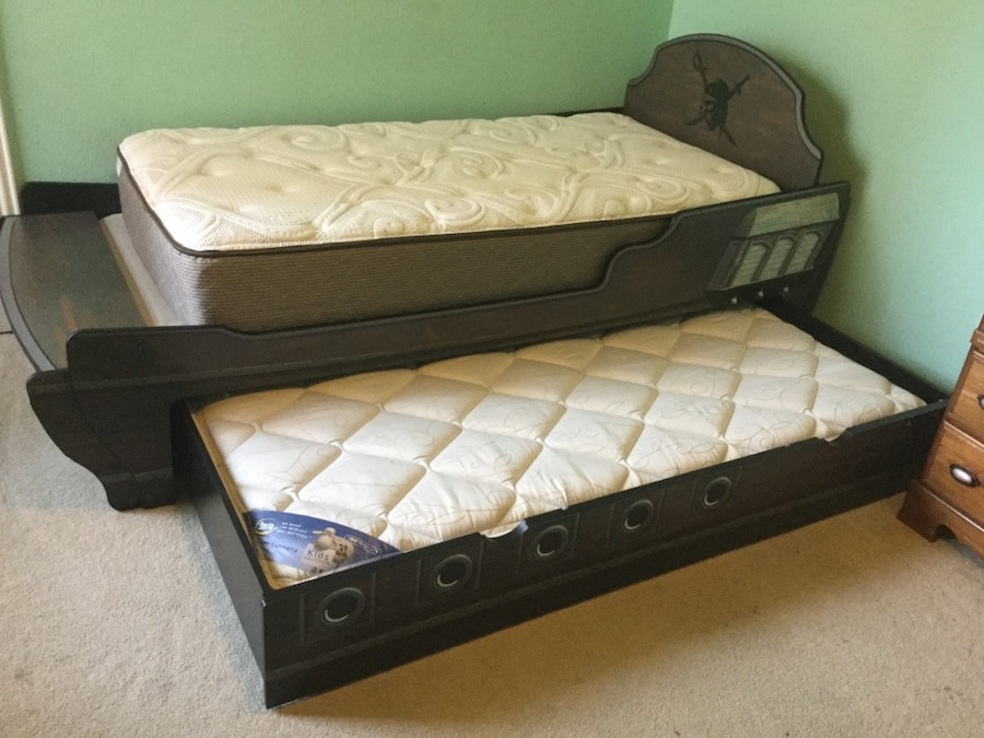 used twin pirate bed with trundle for sale in allen letgo rh us letgo com