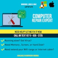 Computer repair Ashburn
