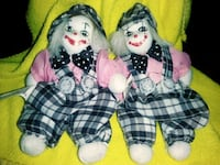 two black and white dressed dolls Catonsville, 21228