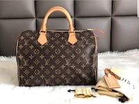 Brown louis vuitton leather tote bag Columbia, 21045