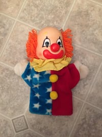 ##   1985 Vintage Dakin Clown Hand Puppet Happy/Sad Asheville