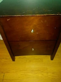 brown wooden 2-drawer chest New Orleans, 70131