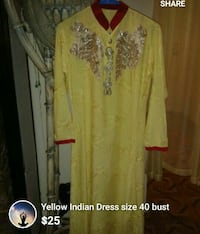 yellow and white floral long sleeve dress screenshot