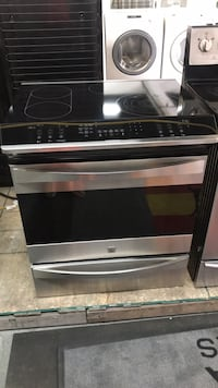 DELIVERY & WARRANTY - Kenmore slide in glass top stove stainless steel Toronto, M6H