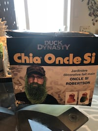 Duck Dynasty Chia Uncle Si Robertson Handmade Decorative Planter Courtice, L1E 0H5