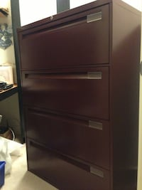 Steelcase 4 Drawer Lateral File Cabinet North Vancouver, V7H 2T5