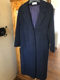 "Women's Long Coat 50"" Long: Size Large"
