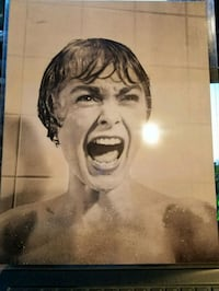 Psycho Movie Wall Poster Wall Decoration  Burtonsville