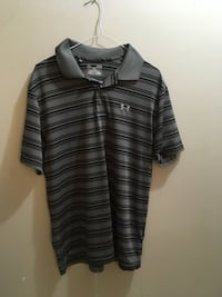 Men's large loose under armour polo golf shirt