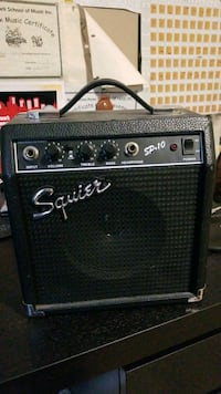 22W Squier sp 10 electric guitar amp