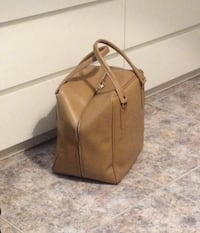 BOLSO VERTICAL TIPO BOWLING VINTAGE VINTAGE IMPECABLE 6516 km
