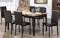 Brand new Faux-Marble top Dinning set - Free Delivery TORONTO