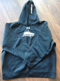 Black Under Armour Storm pullover hoodie L