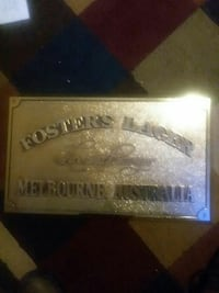 Fosters Lager bar sign Cheyenne