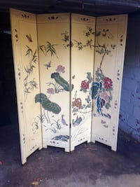 .Beautiful 4Panel Chinese Screen/ Room Divider Takoma Park, 20912