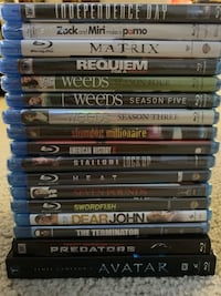 40 Blu-ray Movies (17 brand new) Reston, 20194