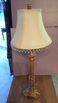 brown and white table lamp Jacksonville, 32223