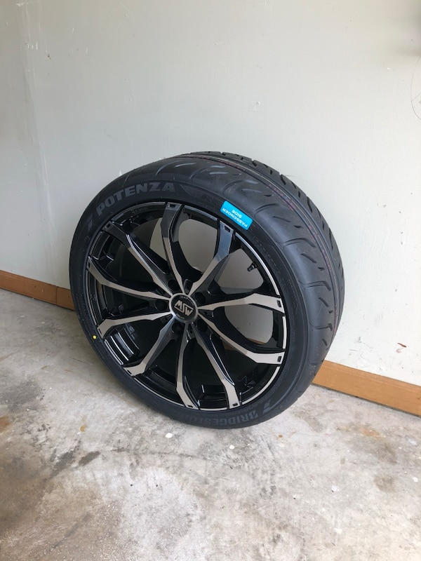 BMW rims and performance tires