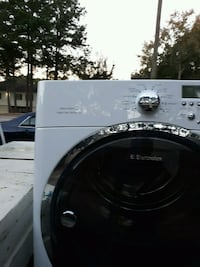 white front-load clothes washer Knightdale, 27545