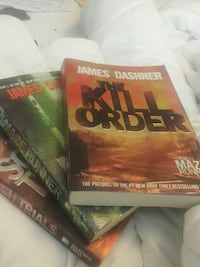 Maze runner books Welland, L3C 6W1
