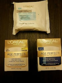 L'Oreal day and night cream and face wipes Randallstown, 21133