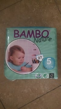 Bambo Nature diaper pack Burnaby, V5C 2Y6