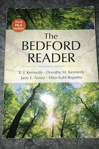 The Bedford Reader | 2016 MLA update 13th edition