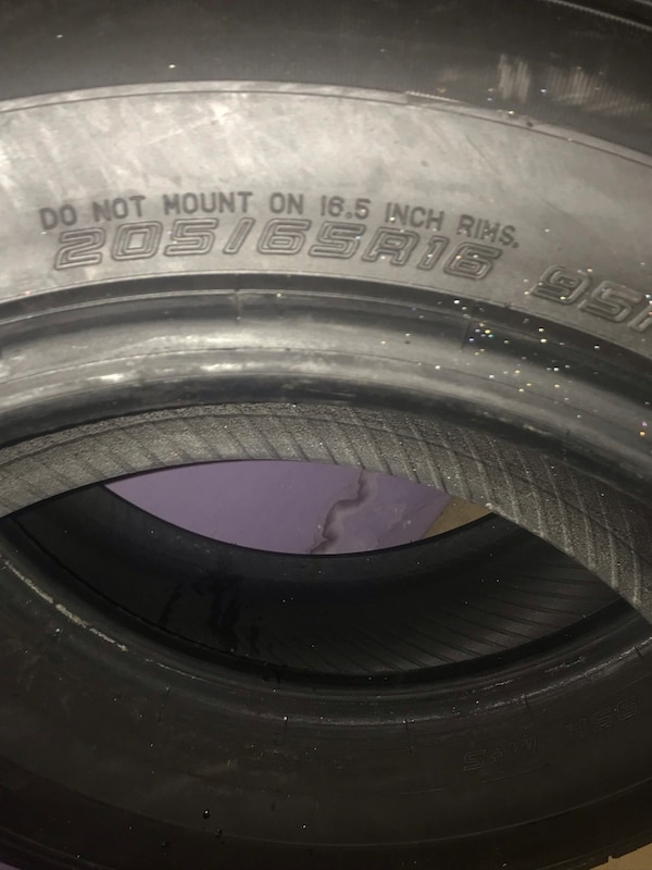 2 Sumic Brand 205/65R16 New Tires