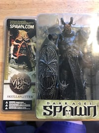 Dark Ages Spawn The Skull Splitter mini figure in box Niagara Falls, L2E 4S8