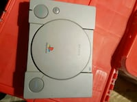white Sony PS1 game console LaSalle, N9J