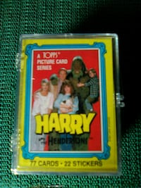 1987 harry and the Henderson cards set Hedgesville