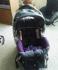 baby's purple and black car seat carrier Tampa, 33625