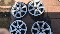 "Replica AMG Mercedes rims 17"" good condition Longueuil, J4V 3K7"