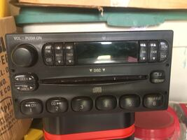 Ford factory radio with CD player