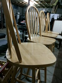 4 Wood/swivel stools $60 for all 4 Hopewell Junction, 12533