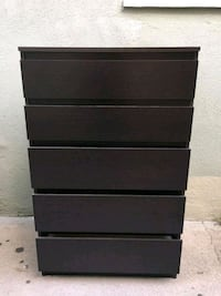 Ikea Kullen 5 Drawer Dresser and Nightstand Los Angeles, 90061