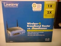 Linksys wireless-G router box Laval, H7V 3T5