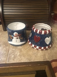 Snowman jar candle burner  Hedgesville, 25427
