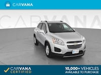 2016 Chevy *Chevrolet* *Trax* LT Sport Utility 4D hatchback Silver Downey