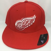 Detroit RedWings Adidas Fitted Hats