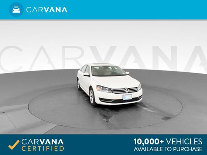 2013 VW Volkswagen Passat sedan 2.5L SE Sedan 4D White <br /> 0