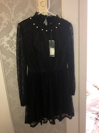 Black lace dress( brand new)