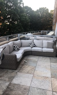 Amazing outdoor sectional!